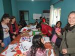 1 Veronika working at the community center of ADRA Albania